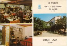 CPM  ORGNAC  L AVEN  ** HOTEL RESTAURANT DE L AVEN  MULTIVUES - France