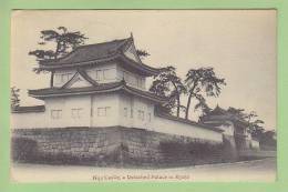 Nijo Castle, A Detached Palace In Kyoto, 1910. 2 Scans. Oblitéré Tsruga. Edition Nishimura - Kyoto
