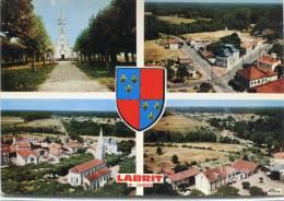 CPSM 40 LABRIT MULTI VUES   Grand Format 15 X 10,5 - Labrit