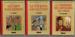 BD COLLECTION HISTOIRES ET MYSTERES DES EDITIONS GLENAT - 5 PETITS LIVRES EN EDITIONS ORIGINALES DE 1993, VOIR LES SCANS - Books, Magazines, Comics
