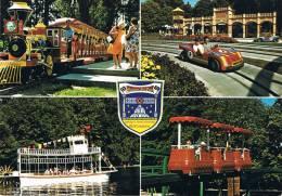 EUROPA-PARK - Freizet Und Familienpark - RUST/BADEN - Monza, Western Und Einschienenbahn, Mississippi-Raddampfer - Allemagne