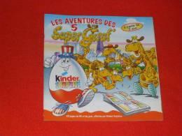 Bd Publicitaire - Kinder - Non Classés