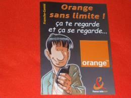 Bd Publicitaire - Orange - France Telecom - Non Classés