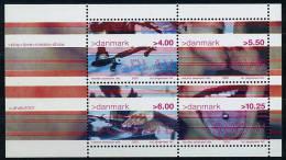 Lot 169 - B 12 - Danemark ** Bloc N° 18 - Culture Des Jeunes. Jeu : Skate Board - Blocs-feuillets
