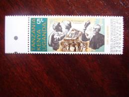 KUT 1971 STANLEY Meeting LIVINGSTONE Centenary  5/- STAMP MNH. - Kenya, Uganda & Tanganyika