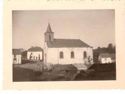 Engreux (Mabompré-Houffalize)L´Eg Lise Saint Antoine -Le Gîte -Camp J.J.O.C 15 Aôut 1947- Photo  Originale-9x6,5cm - Albums & Collections