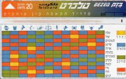 CARTE BEZEQ ISRAEL 20 UNITS - Israel