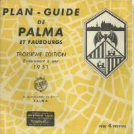 Carte Touristique Réf.14-092. Plan-guide De Palma Et Faubourg - Cartes