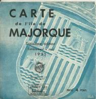 Carte Touristique Réf.14-093. Carte De L'île De Majorque - Cartes