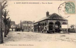 SAINT MARTIN DES BESACES - Place Du Marché    (55773) - Andere Gemeenten