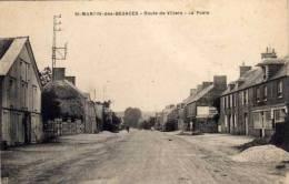 SAINT MARTIN DES BESACES - Rte De Villers - La Poste   (55774) - France