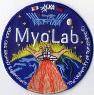 Japan JAXA Myo Lab Cell Biology Experiment Space Patch - Ecussons Tissu