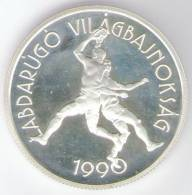 UNGHERIA 500 FORINT 1989 AG FONDO SPECCHIO - Ungheria