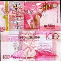 SEYCHELLES 100 RUPEES 2011 P NEW SIGN UNC - Seychelles