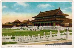 China, The Forbidding City, Peiping (pk11933) - Chine
