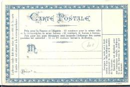 LPP12 - FRANCE - CARTE PRECURSEUR PRIVEE STENOGRAPHIE DUPLOYE NEUVE - Entiers Postaux