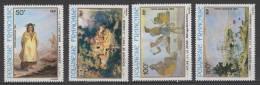 Polynésie PA N° 163 / 166 Luxe ** - Airmail