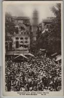 Pakistan - Peshawar, After Friday Prayer In The Main Mosque - Real Photo Postcard - Pakistan