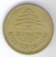 LIBANO 25 PIASTRES 1952 - Libano
