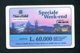 ITALY - Autostrada (Motorway) Toll Card As Scan - KFZ