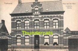 CPA POELKAPELLE **  POELCAPELLE  HUIS VAN DEN HEER COURTENS VEEARTS - Langemark-Poelkapelle