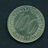 YUGOSLAVIA - 1985 100d Circ. - Yugoslavia