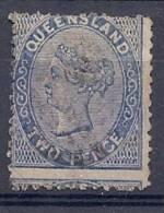 130202320  QUUENSLAND  AUST. .  YVERT   Nº  52 - 1860-1909 Queensland