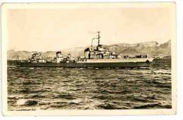 LE TERRIBLE Croiseur Léger - Toulon - N° 12 Noir Blanc Dentelée - Warships
