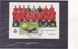 ESPAGNE :  Footbal Euro 2008 : O : Y&T : BF 167 - Blocs & Feuillets