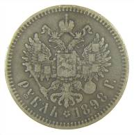 RUSSIA - 1 ROUBLE 1898 - Russia