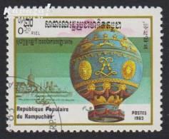 1983 - KAMPUCHEA - Y&T 393 - Montgolfière - Kampuchea