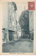 83 / BARJOLS / PLACE DE L EGLISE / PLAN RARE / CIRC 1942 - Barjols