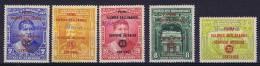 Dominican Republic, 1935 Mi 294/9, Handstamped MUESTRA RRR, Some Stamps Have Tropical Gum - Dominicaanse Republiek