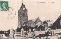 Saint-Germain-sur-Ay - L'Eglise [1937/S50] - France
