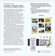 USA: 1988 National Park Golden Eagle Stamps, Face Value $ 100 - Verenigde Staten