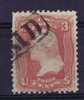 USA:1861 Scott 64 Used, - 1847-99 Algemene Uitgaves