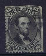 USA:1861 Scott 77 Used, - 1847-99 Algemene Uitgaves