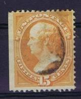 USA:1870-1871 Scott 152  Used,  1 Side Imperforated - 1847-99 Algemene Uitgaves