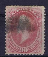 USA:1870-1871 Scott 155   Used,  Right Top Fold - 1847-99 Algemene Uitgaves