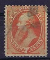 USA: 1870-1871 Scott 160   Used - 1847-99 Algemene Uitgaves