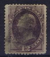 USA: 1870-1871 Scott 162   Used - Gebruikt
