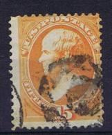 USA: 1870-1871 Scott 163   Used - Gebruikt