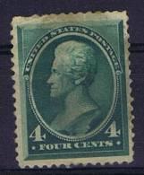 USA: 1881 Scott 211   MH/* Left Top Small Fold - 1847-99 Algemene Uitgaves
