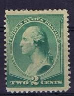 USA: 1887 Scott 213 Not Used (*) - Unused Stamps