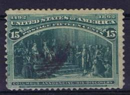USA: 1893 Scott 238 Used - 1847-99 Algemene Uitgaves