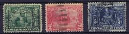 USA: 1907 Scott 328-330 Used - Verenigde Staten