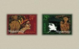 Hungary 1996. EUROPA CEPT - Konigs Complete Set MNH (**) Michel: 4380-4381 / 3.50 EUR - Nuovi