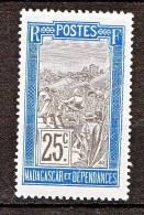 MADAGASCAR N� 101 NEUF* TTB