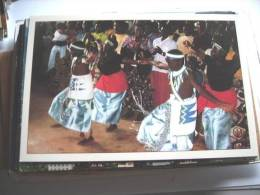 Africa Ruanda Rwanda Dancing Children - Rwanda