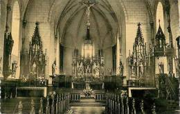 Avr13 1362 : Mirwart  -  Grupont  -  Vallée De Lhomme Intérieur De L'Eglise Paroissiale - België
